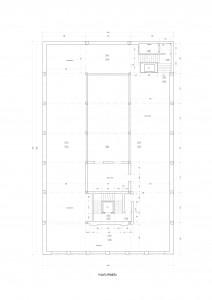 Nivel 1 - Planta. Superficie paredes: 98x2,8= 274 m2
