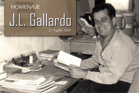 Homenaje J.L. Gallardo