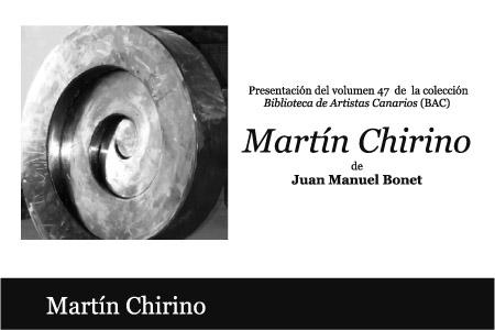 Biblioteca de Artistas Canarios: Martín Chirino