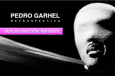 Inauguración infantil exposición 'Pedro Garhel, retrospectiva'