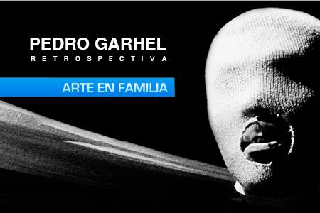Arte en Familia exposición 'Pedro Garhel, retrospectiva'
