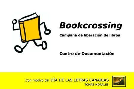 Bookcrossing por el Día de las Letras Canarias