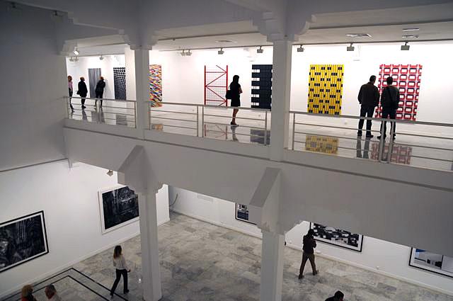 Fischer, el orfebre de las formas visuales, expone en el Centro de Arte La Regenta