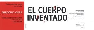 'El cuerpo inventado' visita comentada por el artista Gregorio Viera exposición Centro de Arte La Regenta Las Palmas de Gran Canaria