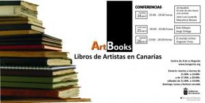 Libros artistas conferencia centro arte la regenta las palmas artbooks gran canaria