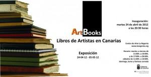 ArtBooks Exposición Libros de Artistas en Canarias las palmas de gran canaria centro de arte la regenta