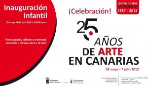 Inauguración infantil '¡Celebración! 25 años de arte en Canarias' exposición 25 aniversario Centro de Arte La Regenta Las Palmas de Gran Canaria