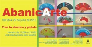 AbanicArte, taller de decoración y personalización de abanicos Centro de Arte La Regenta Verano Las Palmas de Gran Canaria