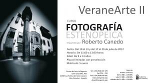 VeraneArte II Curso de fotografía estenopeica impartido por Roberto Canedo Centro de Arte La Regenta Las Palmas de Gran Canaria