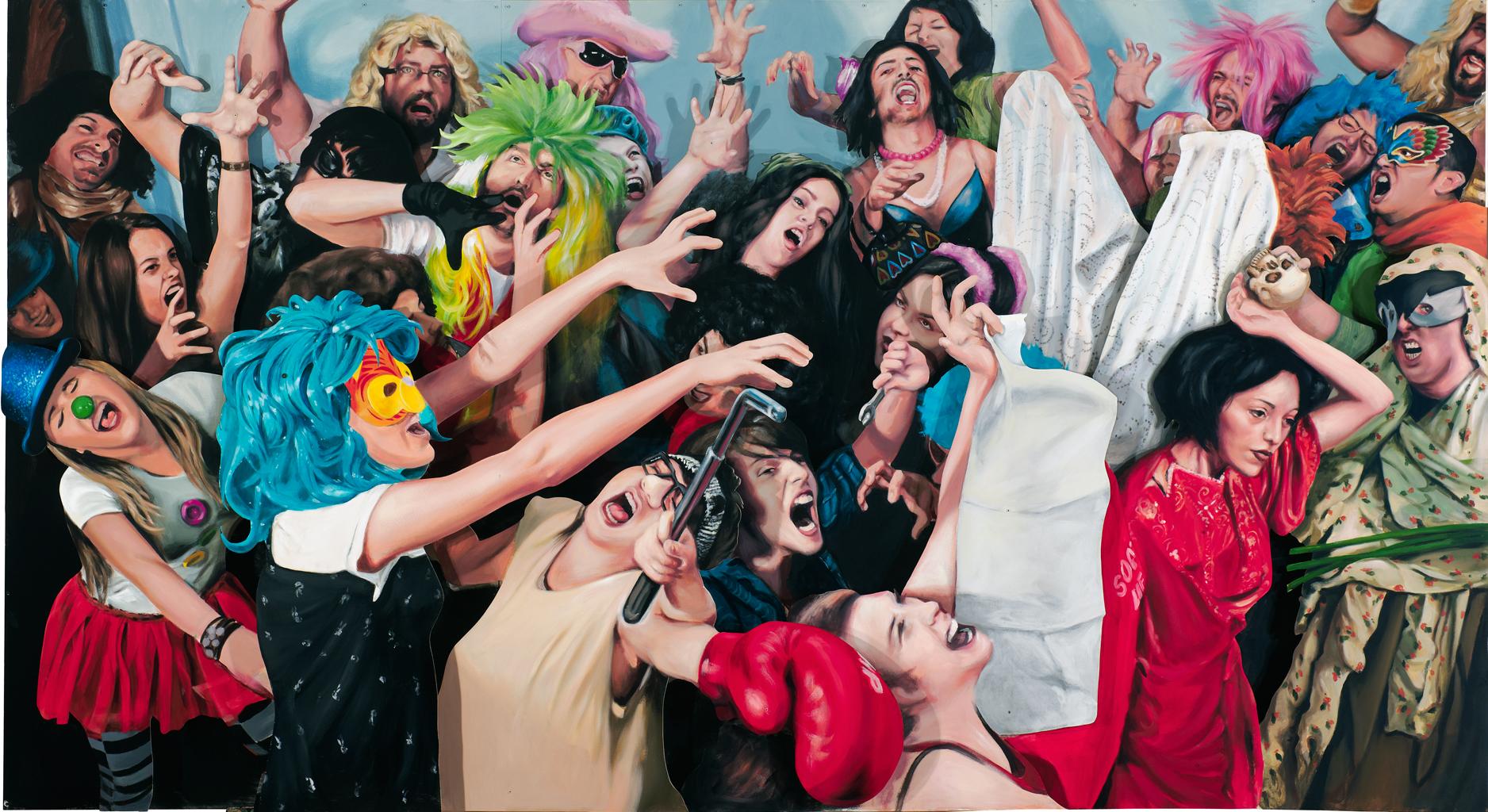 La exposición 'Juego de máscaras. La identidad como ficción' se instala en el Centro de Arte La Regenta