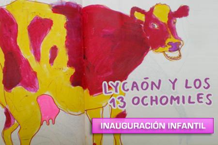 'Lyacaón y los 13 ochomiles' inauguración infantil
