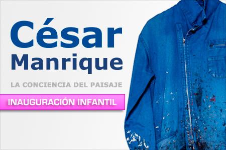'César Manrique. La conciencia del paisaje' inauguración infantil
