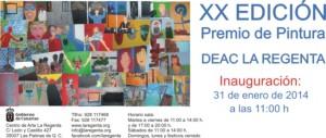 XX Edición Premio de Pintura DEAC Centro de Arte La Regenta Las Palmas de Gran Canaria