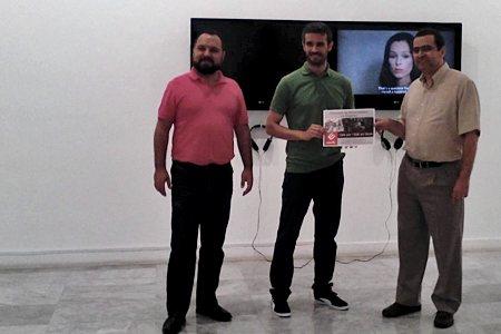Entrega del premio del concurso de microrrelatos