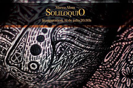 'Soliloquio' de Marco Alom