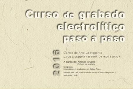 Grabado electrolítico paso a paso