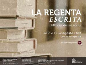 regenta escrita 2016 centro de arte la regenta