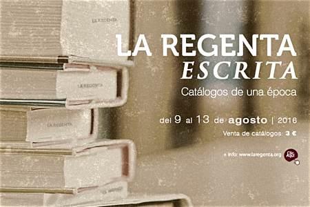 La Regenta escrita: venta de publicaciones