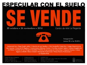 Exposición Especular con el suelo - Centro de Arte La Regenta