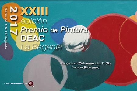 XXIII Edición del Premio de Pintura DEAC La Regenta