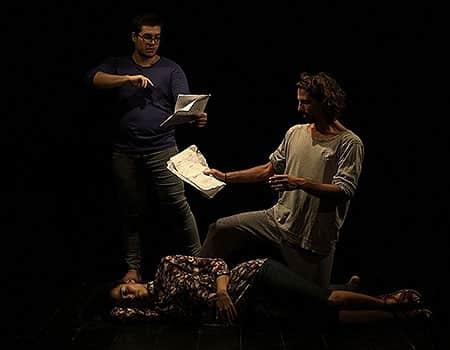 Presentación de obra audiovisual de Amaury Santana