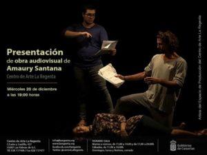 Presentación Audiovisuales Amaury Santana · Centro de Arte La Regenta