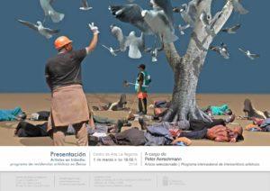 Artistas en tránsito: programa de residencias artísticas en Berna Peter Aerschmann