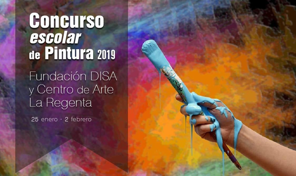 Concurso Escolar de Pintura Fundación DISA y Centro de Arte La Regenta