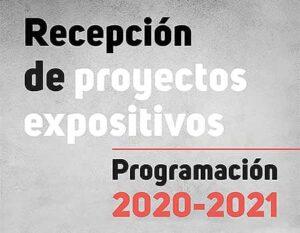 Admisión de proyectos expositivos
