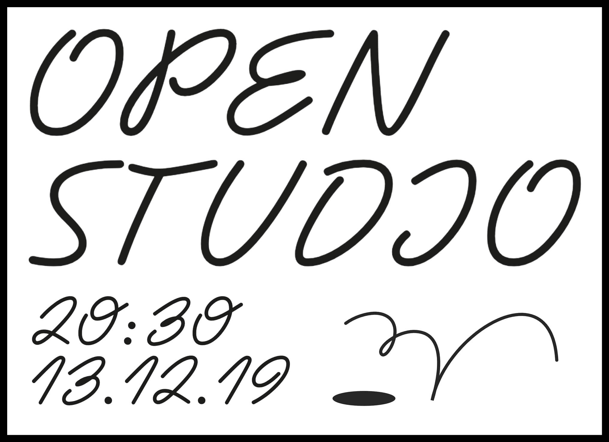 Open Studio, exposición abierta
